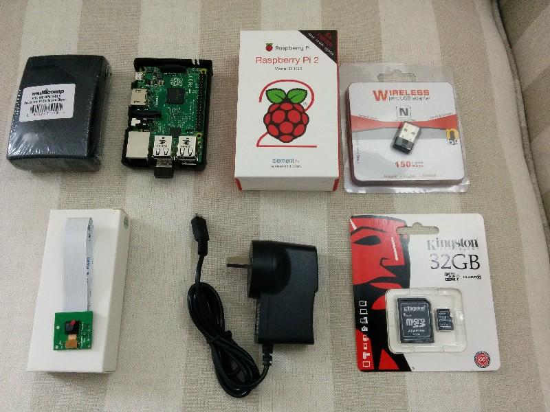 RPi Camera module hardware
